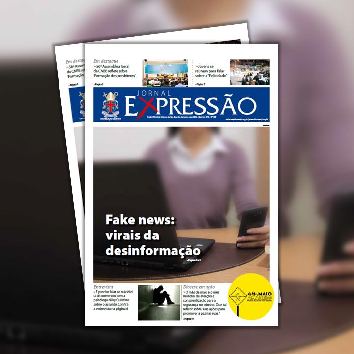 A missão do Jornal Expressão (JE) é recolher os fatos mais significativos  acontecidos no último mês e divulgá-los como brotos de vida em meio à  dureza da ... d94374decd
